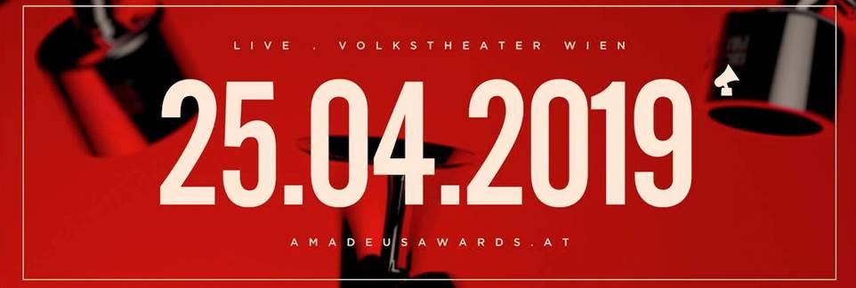 Amadeus Music Award am 25.04.2019