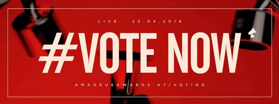 Amadeus Music Award 2019 Vote now